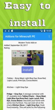 Mods & Addons for Minecraft PE (MCPE) screenshot 1