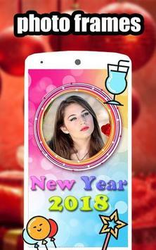 New Year photo Frames 2018 screenshot 7