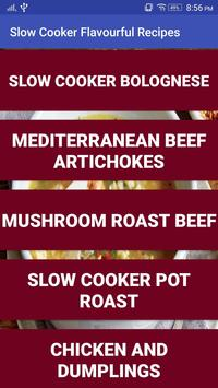 Slow Cook Flavorful Recipes screenshot 1