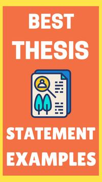 Thesis Examples poster