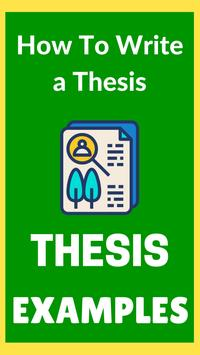 Thesis Statement poster