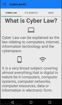 Cyber Law 4 U poster