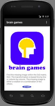 brain games poster