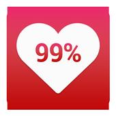 Girlfriend Love Calculator Prank icon