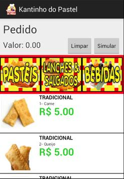 Kantinho do Pastel - Cardápio screenshot 1