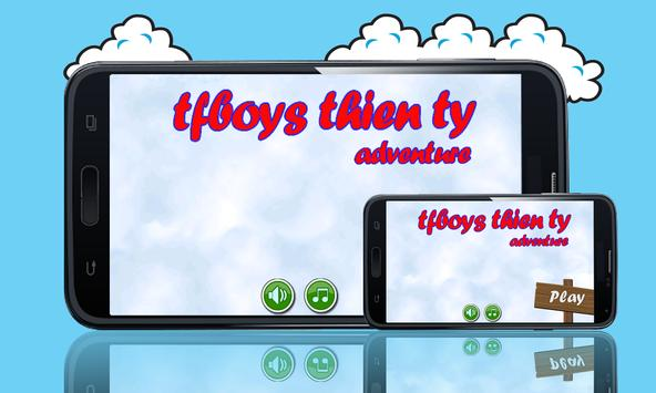 tfboys Thien ty Adventure FREE poster