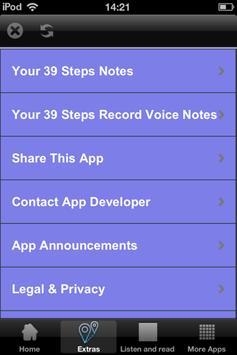 39 Steps - Audio and Text Book apk screenshot