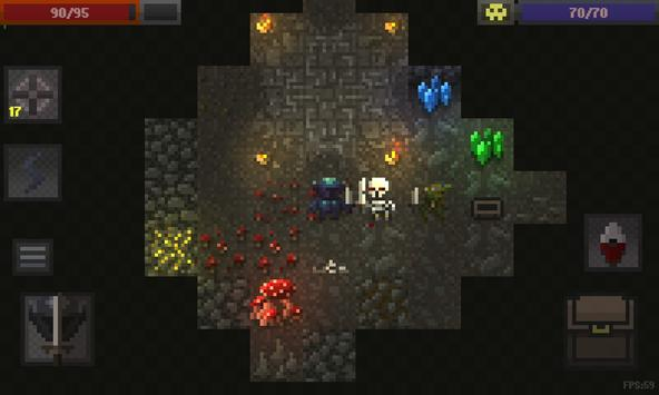 Caves (Roguelike) poster
