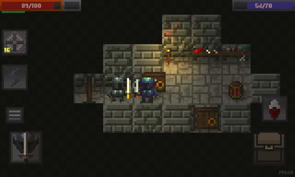 Caves (Roguelike) apk screenshot