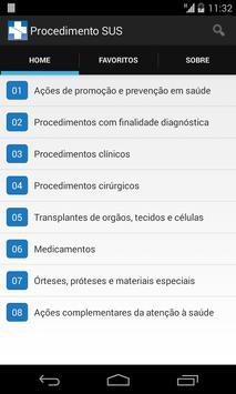 Procedimentos SUS screenshot 1