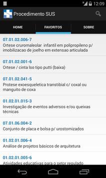 Procedimentos SUS screenshot 3