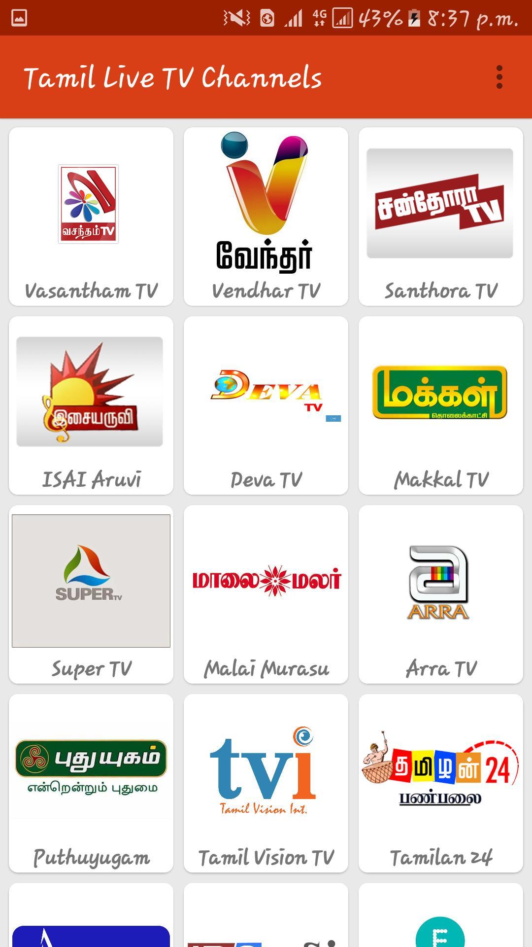 Tamil Live Tv Apk