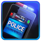 Police scanner radio 2017 icon