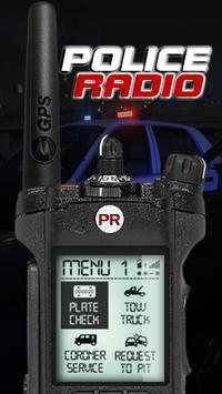 Police scanner radio 2017 poster
