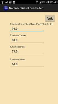 Notenrechner screenshot 3