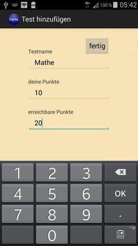 Notenrechner screenshot 1