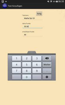 Notenrechner screenshot 7