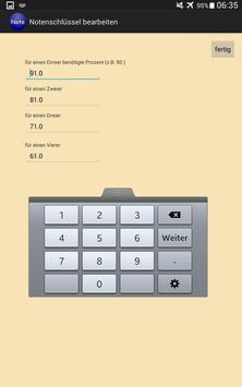 Notenrechner screenshot 5