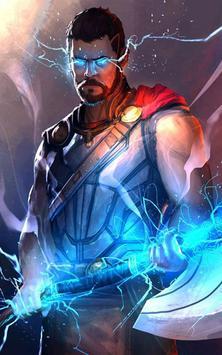 ... Superhero Thor Wallpaper स्क्रीनशॉट 6 ...