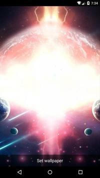 Planet 5 Live Wallpaper apk screenshot