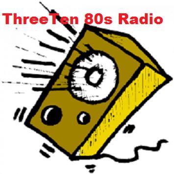 ThreeTen 80s Radio poster