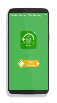 Deleted Message Recovery For Whatsapp poster