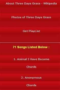 All Songs of Three Days Grace screenshot 2