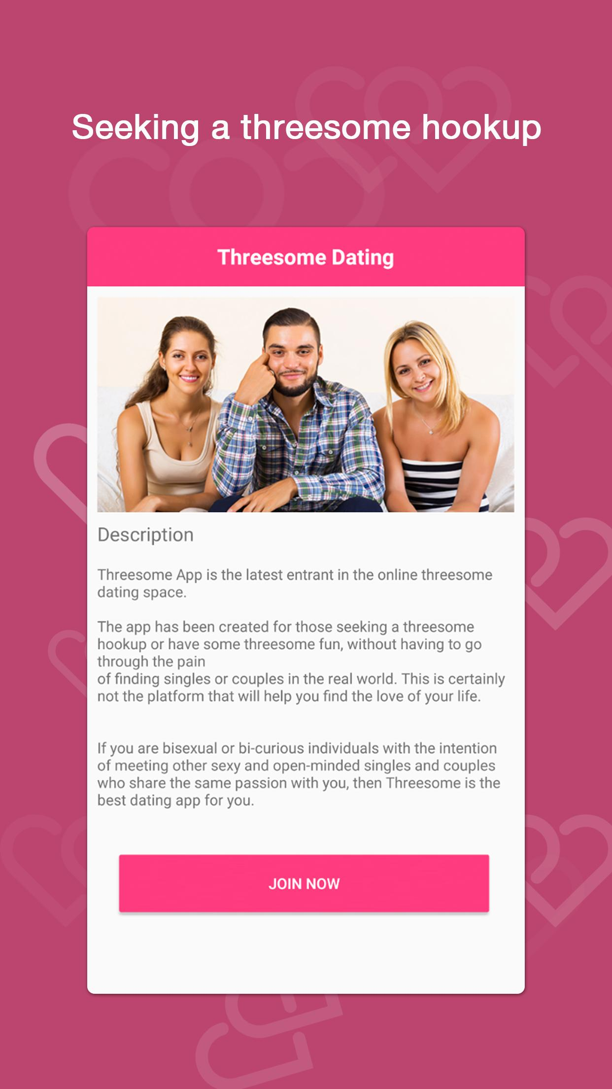 three some dating app