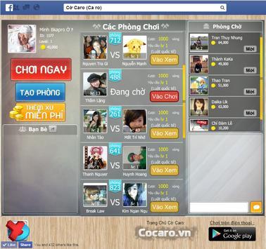 Cờ Caro Online ( Ca ro ) screenshot 3