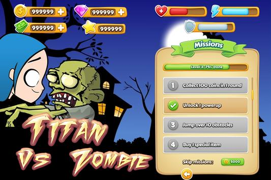 Titan vs. Zombie 💪 screenshot 6