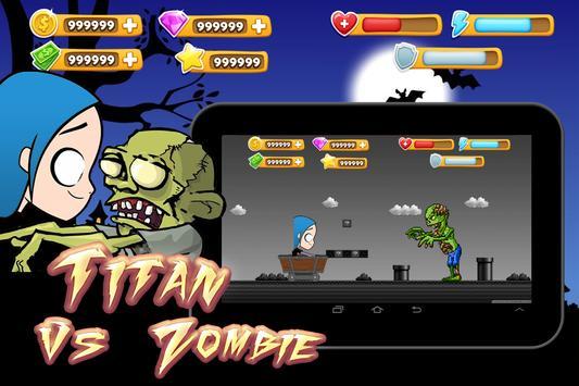 Titan vs. Zombie 💪 poster