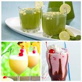 163+ Sharbat & Soft Drink Recipe icon