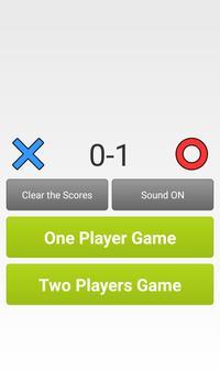 Tic Tac Toe free new game for kids apk screenshot