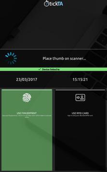 TickTA - Fingerprint / Cards poster