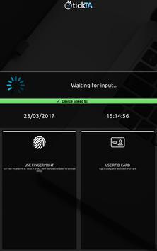 TickTA - Fingerprint / Cards screenshot 1