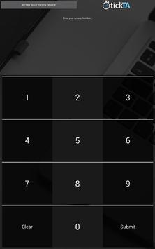 TickTA - Fingerprint / Cards screenshot 2