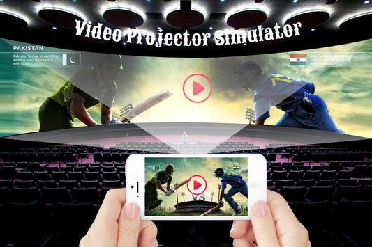 HD Video Projector Simulator poster