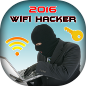Wifi Hacker Password Simulated icon