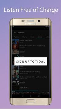 Guide for TIDAL Free apk screenshot