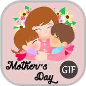 Mother's Day GIF 2019 icon