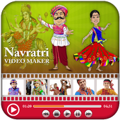 Navratri Video Maker With Music 2018 icon