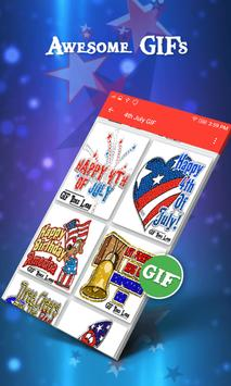 4th July GIF 2018 - American Independence Day GIF apk screenshot