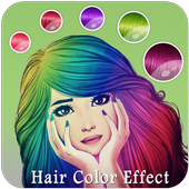 Girls Hair Color Effect - Girls Photo Editor icon
