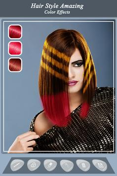 Girls Hair Color Effect - Girls Photo Editor screenshot 1