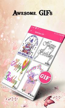 Happy Birthday GIF apk screenshot