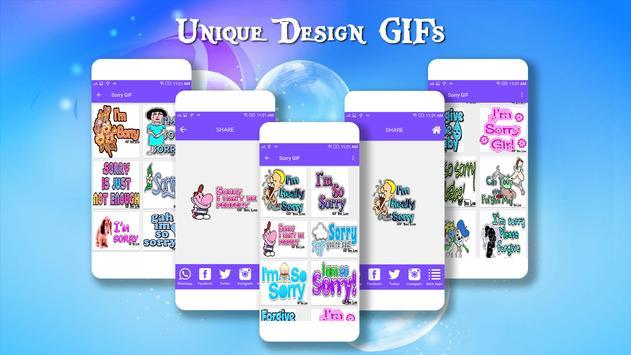 Sorry GIF Collection apk screenshot