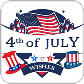 4th July Wishes icon