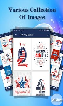 4th July Wishes poster