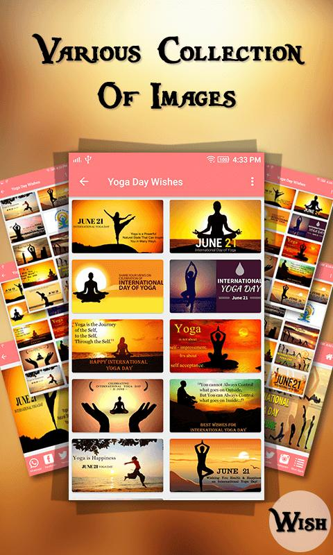 World Yoga Day Wishes 2018 For Android Apk Download