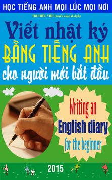 Writing an English diary poster